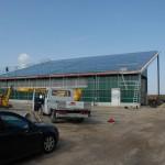 06.03.2012 Bau der PV Anlage